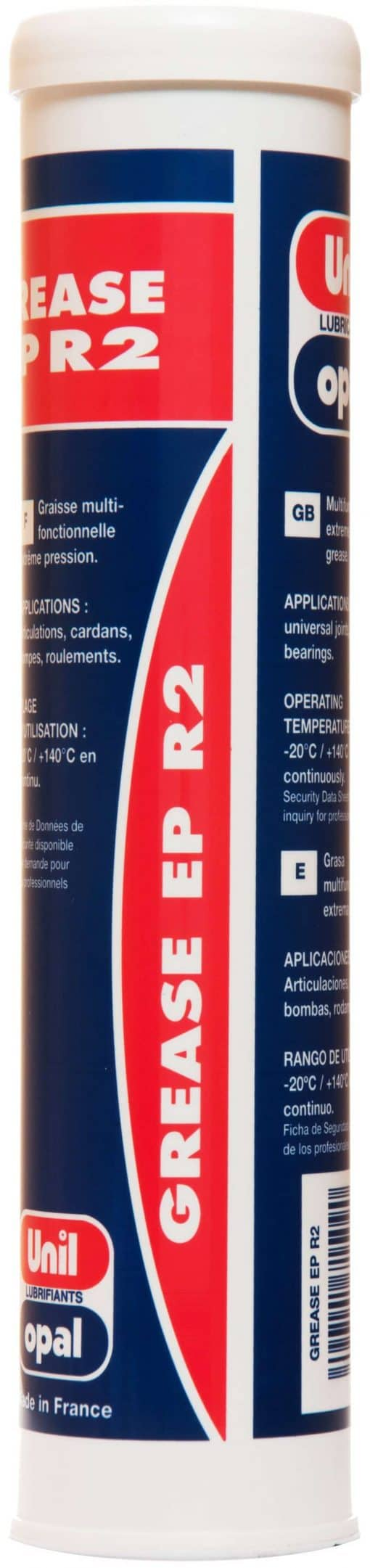 UNIL Grease EP/R2 Universal Fedt, 400 gr. Patron-0